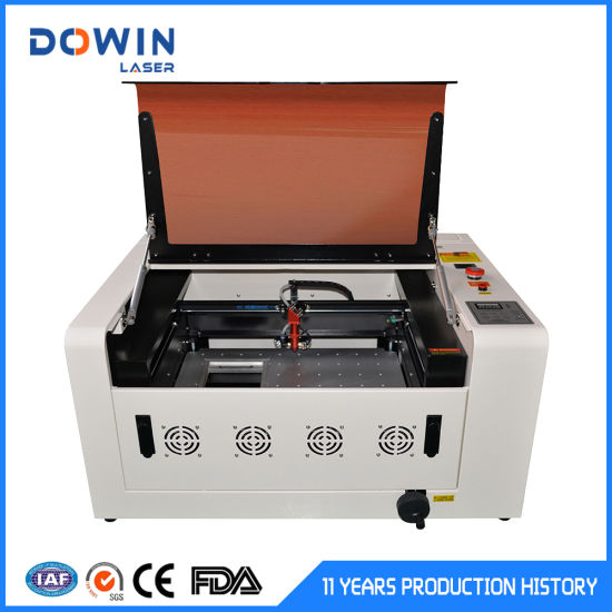 Factory Small Desktop Mini Laser Cutting Machine Price 3040 40W 60W for Acrylic Leather Wood Glass Crystal pictures & photos