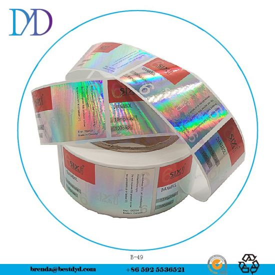 Custom Vinyl Logo Stickers, Adhesive Waterproof Custom Hologram Stickers