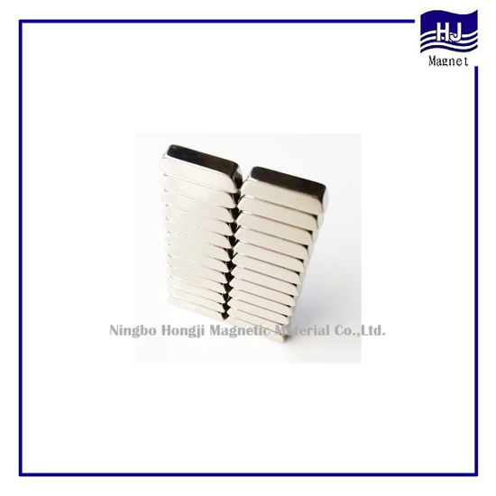 Strong Power Trapezoidal Block Rare Earth Neodymium Magnet for Industrial