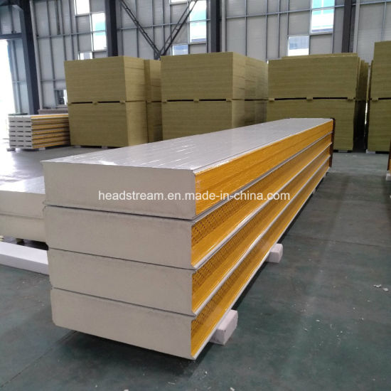 PU/PIR/PUR/Puf 50mm/100mm/150mm/200mm Foam Insulation Fireproof Sandwich Panel for Wall/Roof and Cold Room