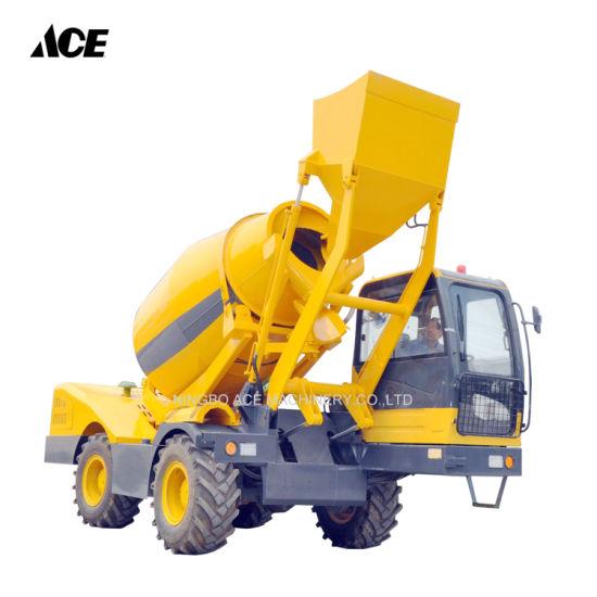 Specialized Vehicle 4m3 Heavy Cement Concrete Mixer Truck Manufacturer