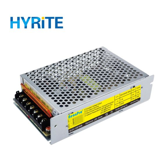 150W 12V Indoor Switching Power Supply for LED Modules