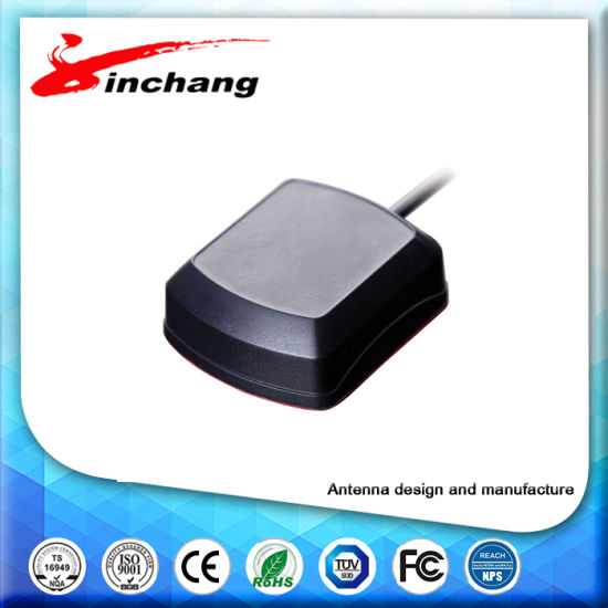 Free Sample High Gain GPS/Glonass/Compass Antenna (JCA001) for Navigation and Tracking Using