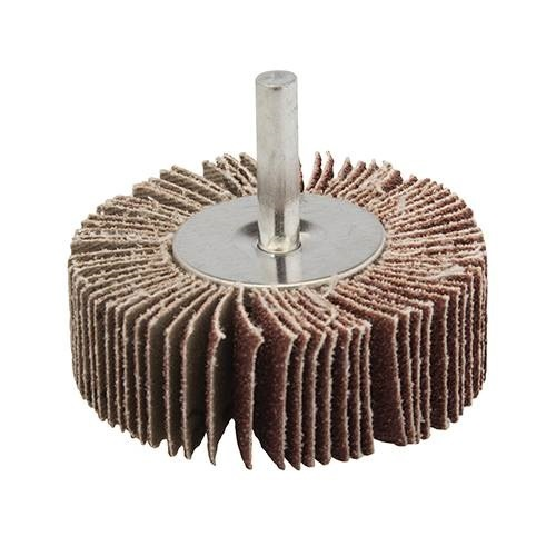 80mm X 30mm P80 Abrasive Flap Wheel with Shaft pictures & photos