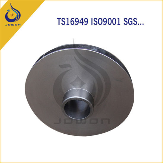 ISO/Ts16949 Certificated Iron Casting Water Spare Parts Impeller