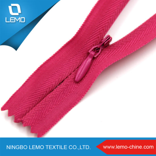 Low Price High Quality Invisible Nylon Zipper