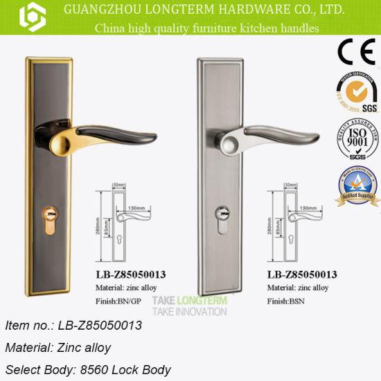 China Zinc Alloy Lever Door Handle Lock on Sale. - China Door Lock ...