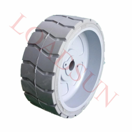 12X4.5 Genie1930 Aerial Platform Tires Non-Marking Solid Tire