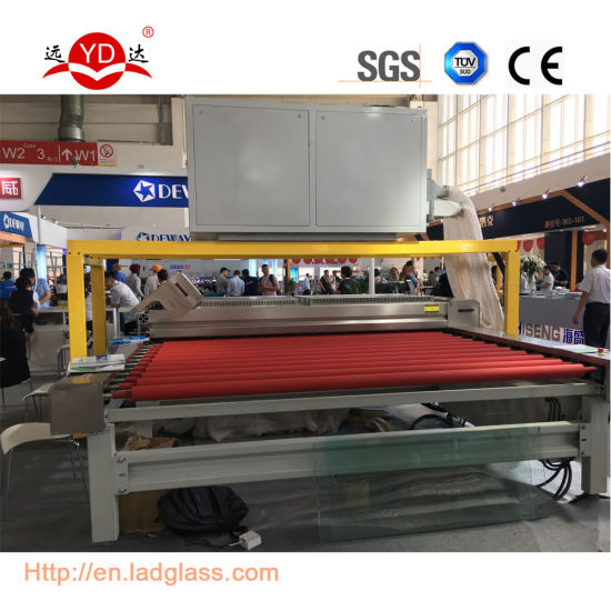 Horizontal Type China Supplier High Efficient Glass Washing Machine