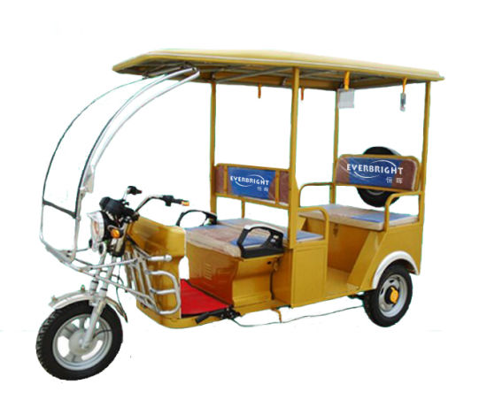 Hot Selling Adult Electric Rickshaw Car for Passenger pictures & photos