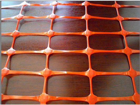Orange Red Plastic Net Safety Fence