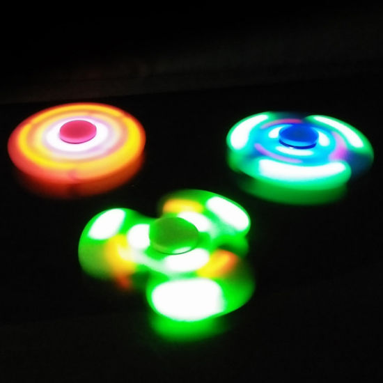 Newest Bluetooth LED Music Fidget Spinner with Bluetooth Speaker pictures & photos