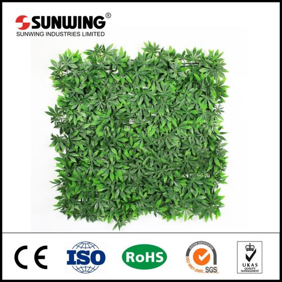 china new style uv protected landscaping evergreen artificial plants