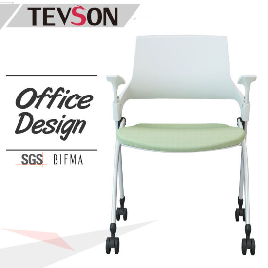 china folding chair for school meeting conference training room