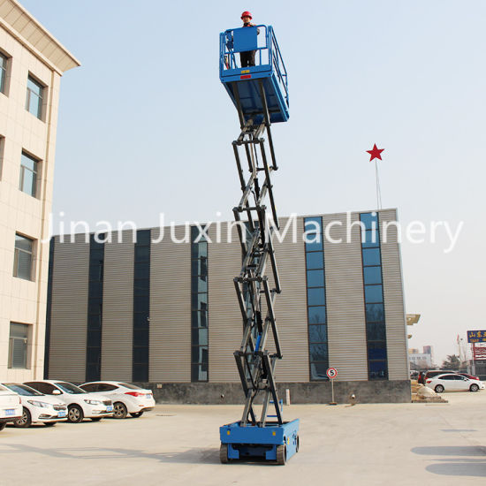 4m Mobile Small Scissor Lift Electric Home Hydraulic Elevator Lift