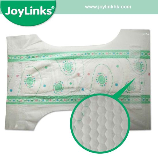 Super Soft Disposable Baby Diaper with Magic Tape