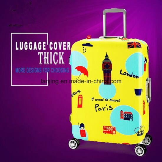 Bw1-005 Hot-Sell Suticase PC+ABS Trolley Luggage Cover Upright Luggage Suticase pictures & photos