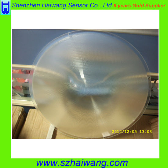 269mm Diameter PMMA Traffic Light Fresnel Lens for Traffic Signal Lamp pictures & photos