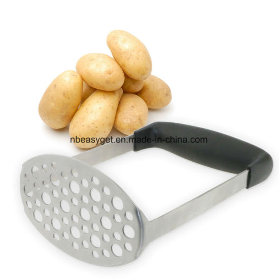 Stainless Steel Potato Masher, Ricer, Press for Smooth Mashed Potatoes, Vegetables and Fruits pictures & photos