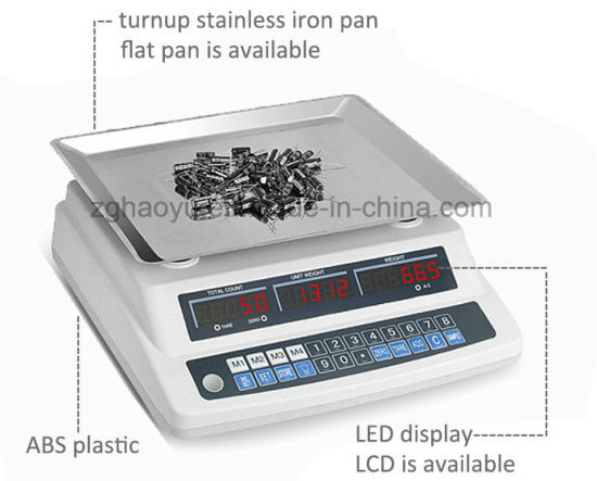 High Precision Counting Machine Digital Platform Scale pictures & photos
