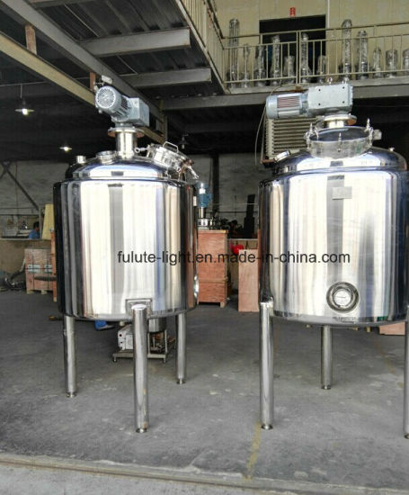 1000L Stainless Steel Chemical Mixer Tank