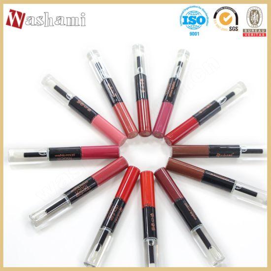 Washami Wholesale 2 in 1 Custom Fashion Lip Gloss Packaging