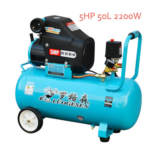 5HP Portable Screw Piston Pump Air Compressor pictures & photos