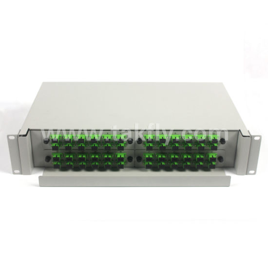 2u Fixed 48 Cores Rack-Mount Fiber Optical Distribution Frame pictures & photos