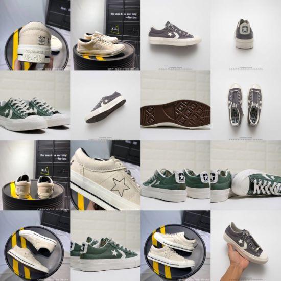 Wholesale Canvas Chevronstar Ox Japanese Series School Style Canvas Shoes