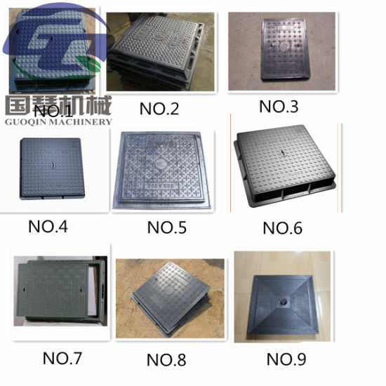 Ductile Iron Manhole Covers and Grates pictures & photos