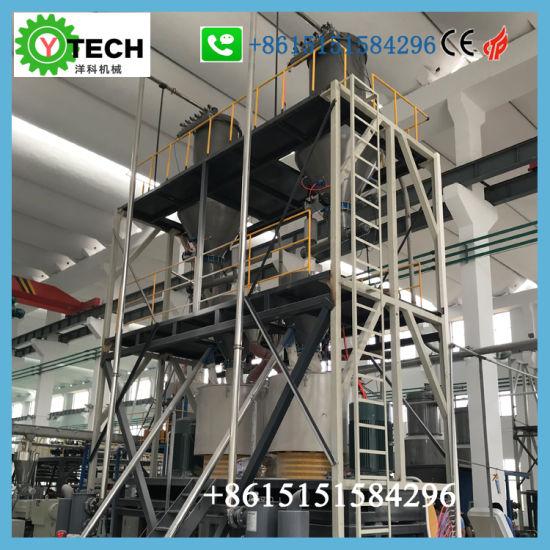 Powder Feeding System PVC Batching System PVC Batching Plant PVC Compounding and Mixing Equipment