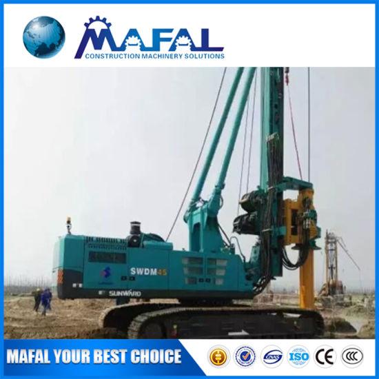 Mafal Mini Rotary Drilling Rig Swdm40 for Afirica