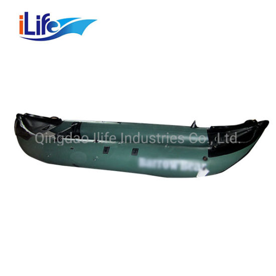 Ilife Fishing Kayak Sit on & Sit in Canoe Boat Wholesale 4.3m 2 Person Drop Stitch Inflatable Kayak for Sale