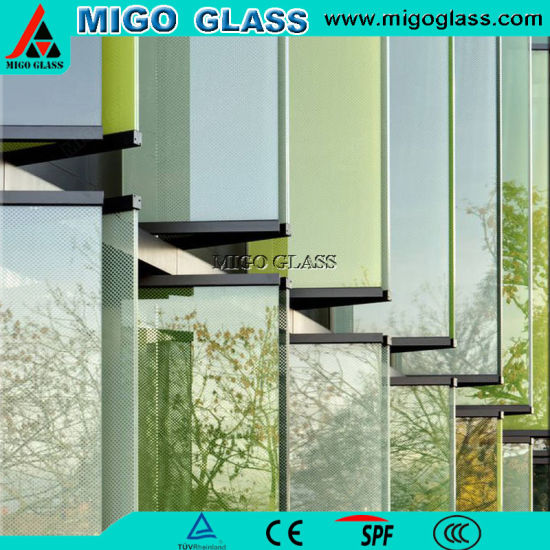 Professional Exporting 6mm Manual Clear and Tinted Louver Window Glass