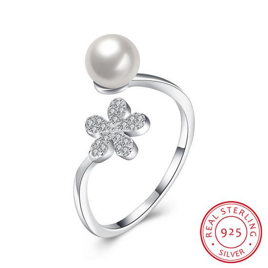 Genuine Sterling 925 Silver Ladies Women/'s Handmade Necklace Zircon/'s Gift Box
