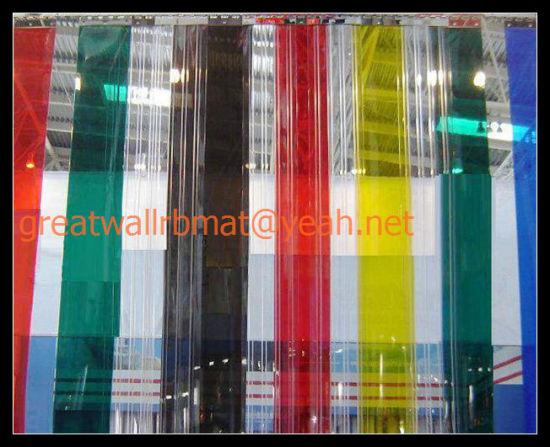 China PVC Door Strip Curtains Roll Mat - China PVC Door Curtains ...