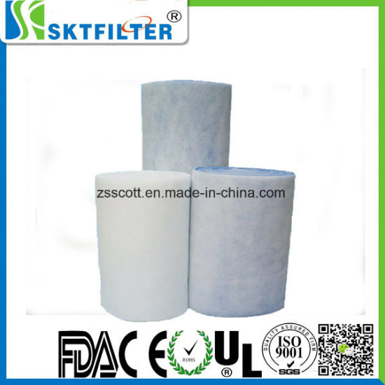 Primary Filter Cotton Used for Spray Booth pictures & photos