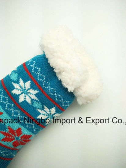 Winter Men and Women Home Socks Anti - Slippery Socks pictures & photos