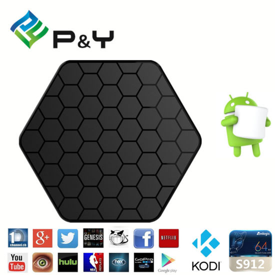 Android Marshmallow Pendoo T95z Plus S912 2g 16g Mxq Android 6 0 Box Kodi  17 0 TV Box