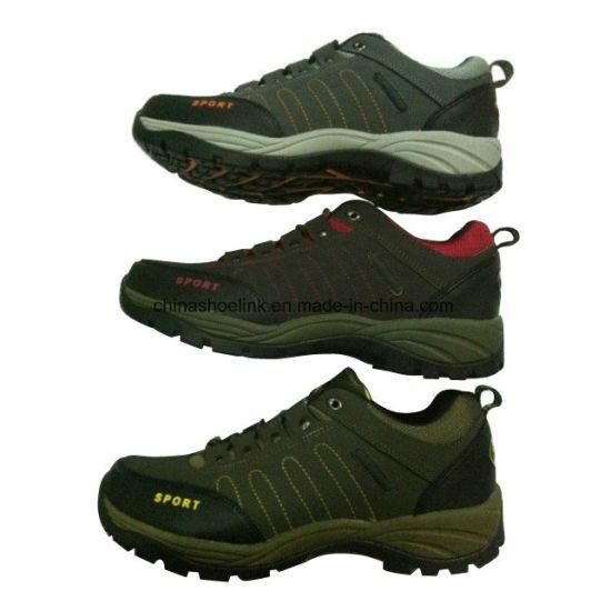 346b18fc9 China Fashion Men′s Leather Hiking Trekking Shoes - China Leather ...