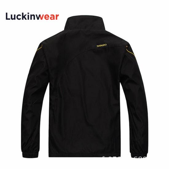 Custom Logo Fashionable Style Men's Nylon Sports Jacket Water Proof Nylon Blazer