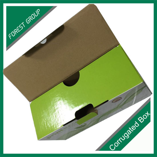 Flat Packed Design Colourful Printed Corrugated Box pictures & photos