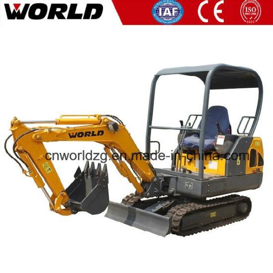 China W218 Small 1 8tons Hitachi Excavator with NACHI Pump