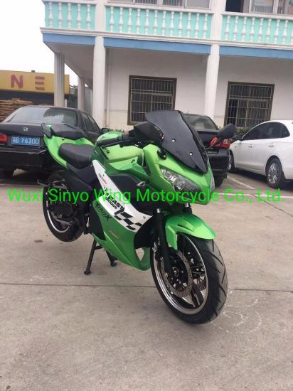 Good Quality & Best Sale for Lithium Battery Skline E-Motorcycle, Electric Racing Motorcycle, Green Color. pictures & photos
