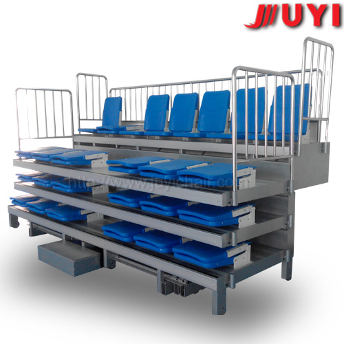Jy-720 Telescopic Mobile Auditorium Chair Retractable Platform Seating System Bleacher Chairs Stadium Seats
