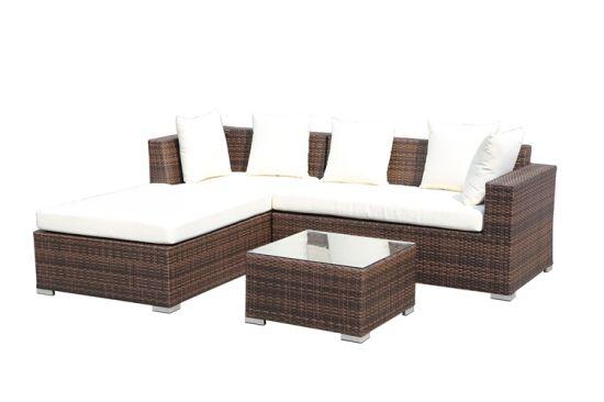 Modular Patio Outdoor Furniture Rattan Sofa Set