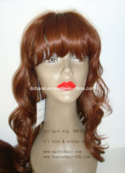 Customizable 100% Kanekalon Daily Use Fashion Hair Synthetic Wigs pictures & photos