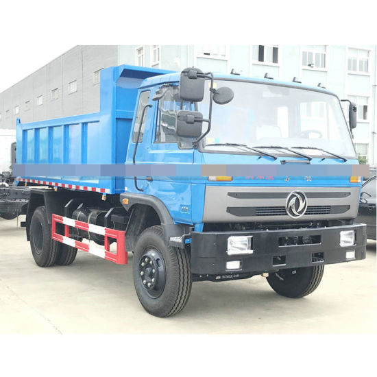 Cheaper Price Dongfeng 8tons Garbage Tipper Truck, 10cubic Meter Dump Truck for Sales