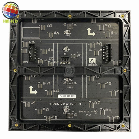 High Quality Indoor P6 192X192 Full Color SMD LED Display Module