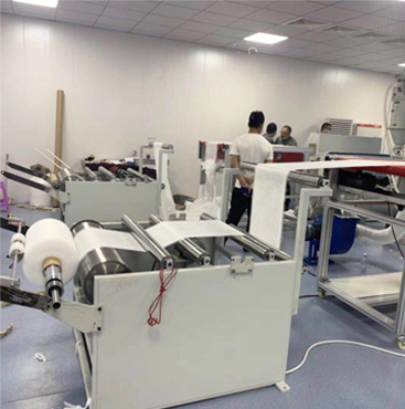 PP Meltblown Mask Filter Fabric Extrusion Making Machine